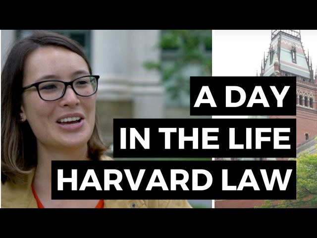 A Day in the Life Harvard Law School Student