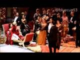 Tuba Buyukustun at La Tarviata play in Napoli on 4/11/15
