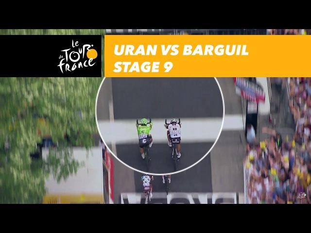 Uran vs. Barguil - Stage 9 - Tour de France 2017
