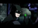 The Green Lantern is making fun of Batman Justice League War