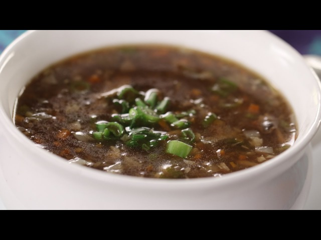 Hot And Sour Soup   Sanjeev Kapoor Khazana
