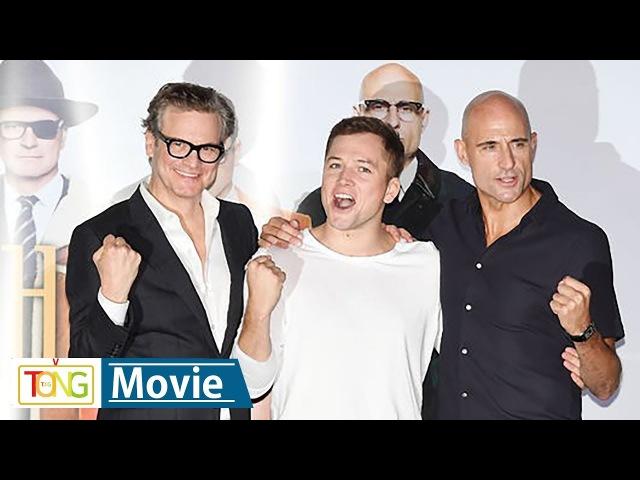[풀영상] 콜린 퍼스·태런 에저튼 '킹스맨: 골든 서클' 기자간담회 (Kingsman: The Golden Circle, Colin Firth