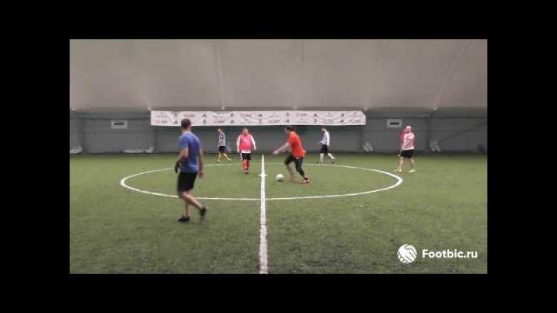 Видеообзор 16 02 2018 Метро Марьина Роща Любительский футбол