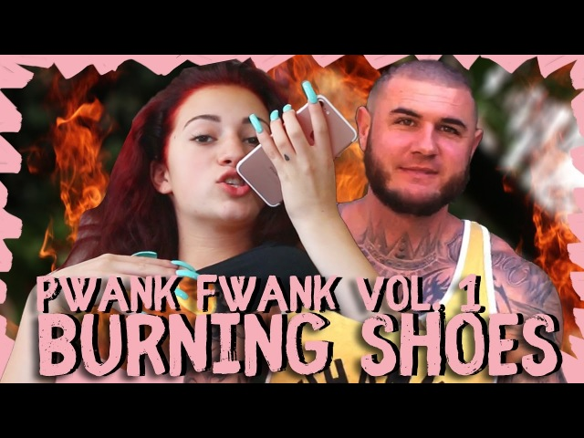 PWANK FWANK VOL 1 | Danielle Bregoli pranks Frank and burns his shoes | May, 2017