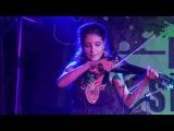 Сара Окс и Violin show с песней Jewish Girl