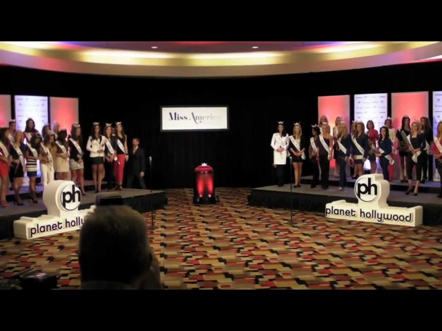 2012 Miss America Pageant Arrival Ceremony