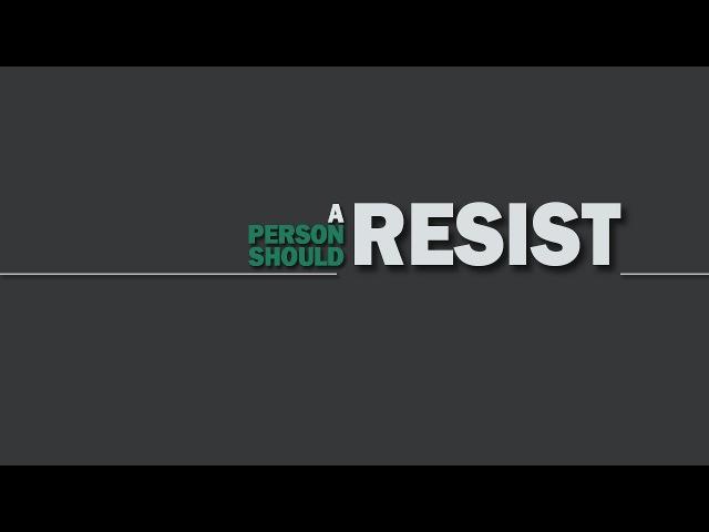 A Person Should Resist–Track 1 (demo)