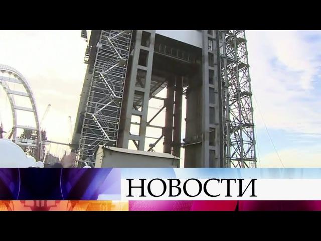 ВКерченском проливе началась морская операция потранспортировке иподъему а...