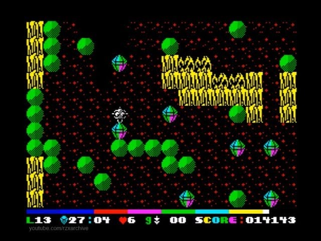 Earth Shaker Walkthrough, ZX Spectrum