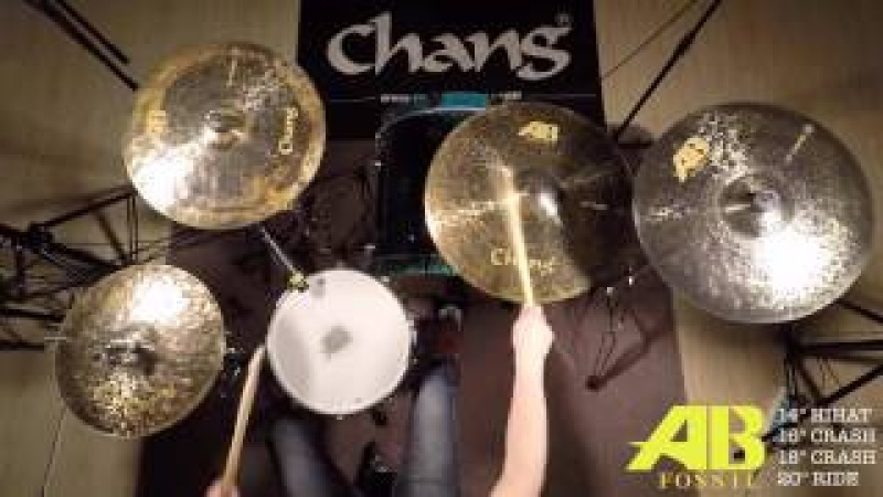 CHANG Cymbals AB-FOSSIL for drum set