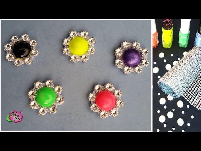 Лайфхак. DIY Серединки для бантов и цветов канзаши3/Lifehack for handmade. DIY accessory for bow3