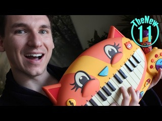 Five 80's metal songs on a meowing toy Kitty Cat keyboard. Meow. - TheNew11 -Matt Tastic
