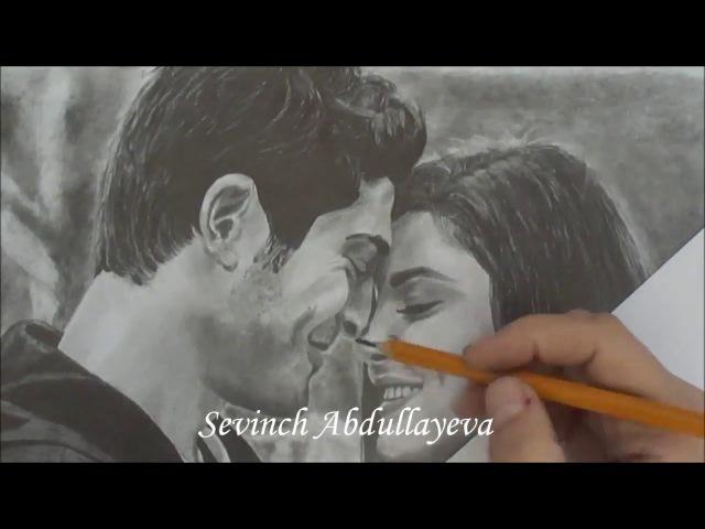 Hayat Murat | Хаят и Мурат Drawn by Sevinch Abdullayeva