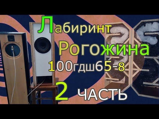 Лабиринт Рогожина на 100ГДШ65-8 Ноэма (2 часть) 50АС-106 Вега