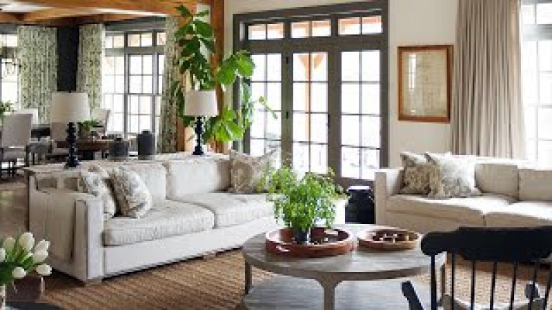 Interior Design –A Sophisticated Country House With Traditional Decor