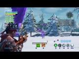 Fortnite PS4 Праздничное выживание. ПВЕ