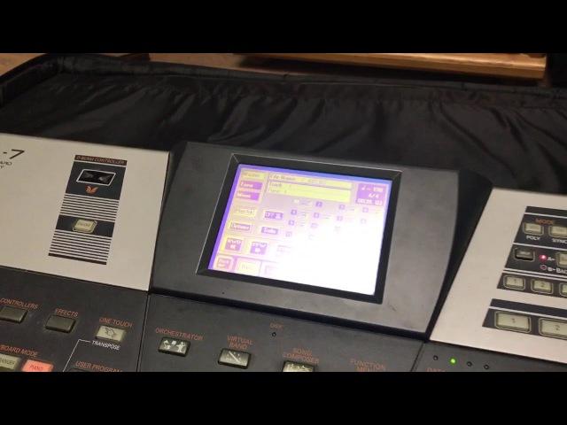Roland VA-7 Black MIDI test (it hung)