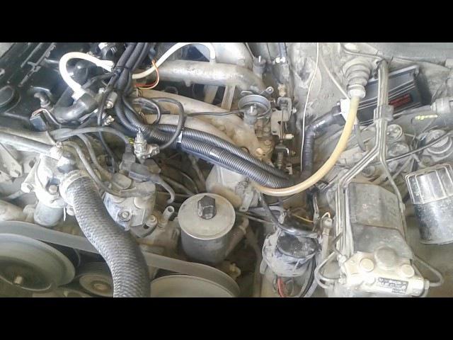 электронный впрыск Инвент-джетроник на мерседес W124 102 мотор