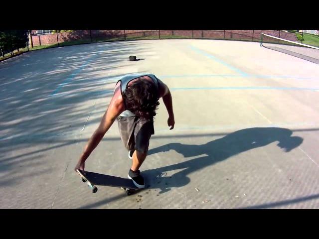Просто Сумашедшие Трюки На Скейтборде Лучший Скейтборд