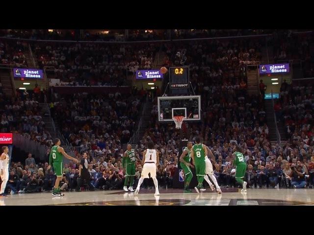 Derrick Rose Buzzer Beater Celtics vs Cavaliers October 17 2017 2017 18 NBA season