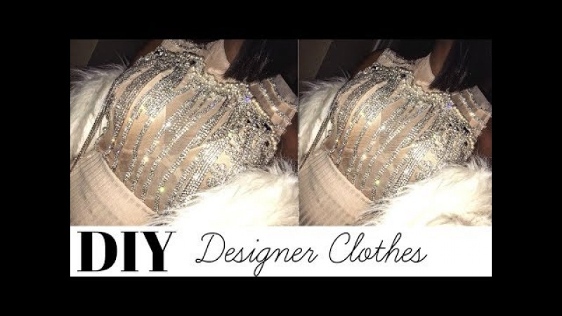 DIY Embellished Designer Clothes