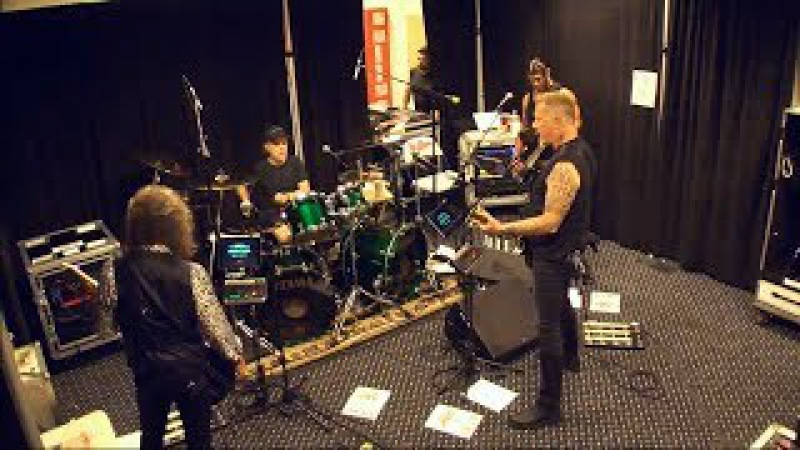 Metallica Murder One Tuning Room ST. LOUIS JUN 04 2017