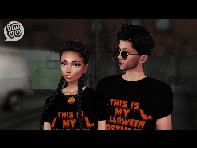 This is IMVU Halloween: Are You Afraid of the Dark?