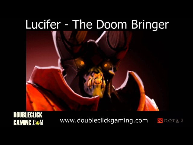 Dota 2 Doom Bringer - Lucifer - Soundset - Voice