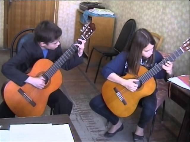 Песня Капитана Врунгеля (Guitar)