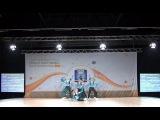FISAF Int World Fitness & HIP HOP UNITE Championships 2017. PR junior Grande Aerobic: Laimochki