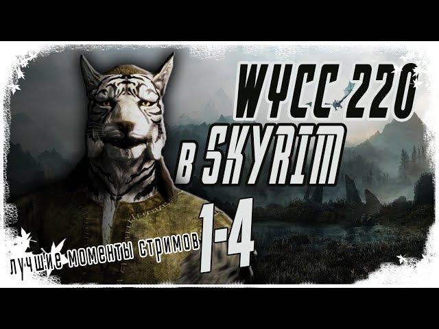 Wycc в Skyrim (лучшее со стримов)
