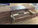 QLine Design Executive Desk with hidden compartments
