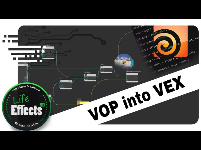 How To Turn A VOP Network Into A Single Wrangle | Houdini VEX Quickies
