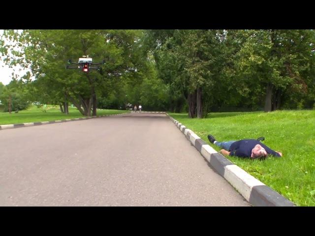 Скорая беспилотная помощь: в Москве создали дрон-дефибриллятор