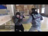 Old School Bare Knuckle Boxing Fight Scene