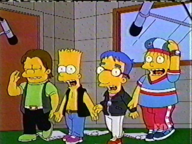 The Simpsons - ★NSYNC -