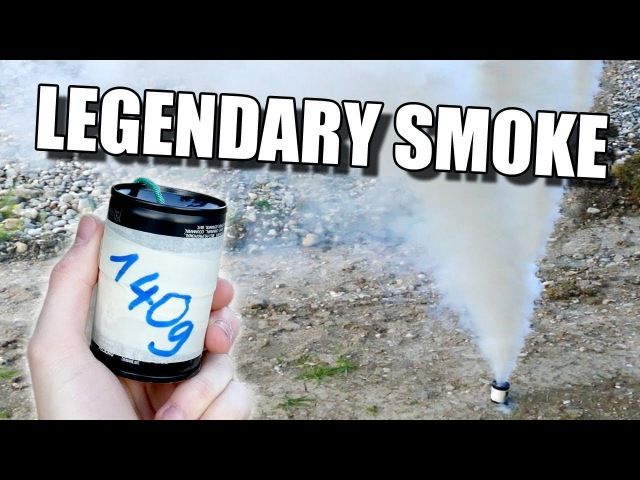 MEGA Rauchbombe bauen Legendary smoke bomb HD