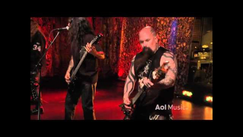 Slayer - Mandatory Suicide (live at AOL Sessions)