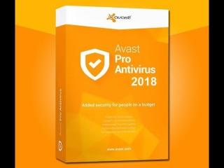 Avast Pro Antivirus 2018 абсолютно бесплатно на целый год!