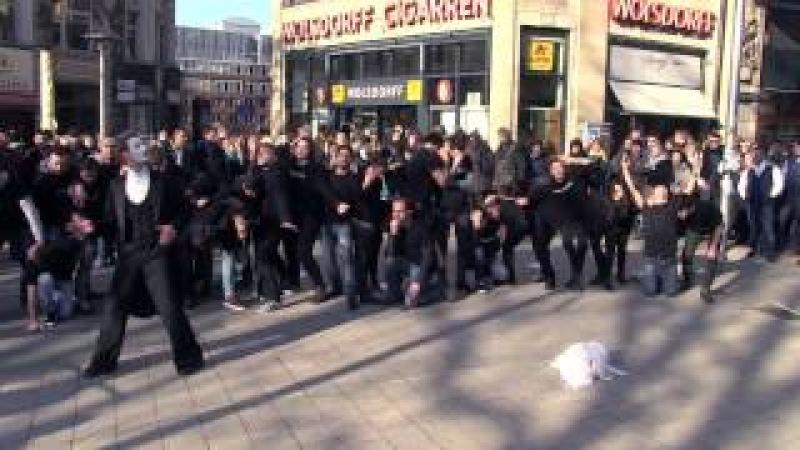 Remember Khojaly Genocide Pantomime in Hamburg
