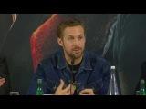 Blade Runner 2049 Pressekonferenz mit Ryan Gosling und Harrison Ford Teil 3  Ab 6.10.2017 im Kino!