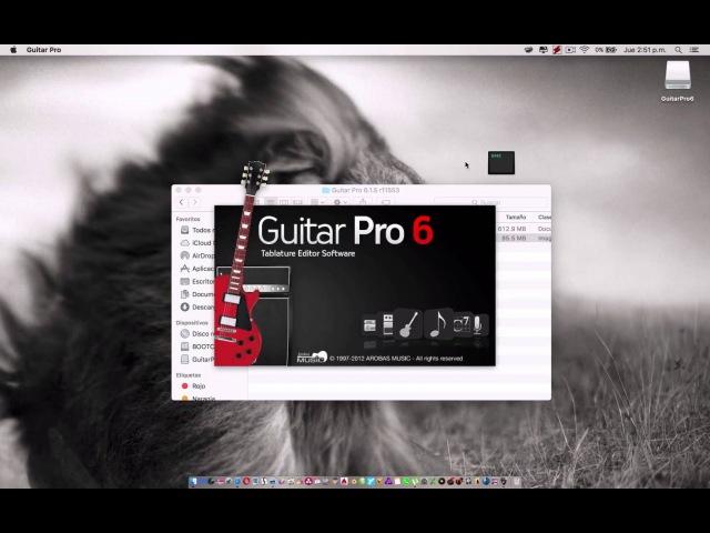 GUITAR PRO 6 CON KEYGEN FULL PARA MAC