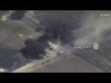 بالفيديو .. الطيران الروسي يدمر مقر قيادة لد&