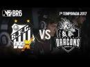 BR6 - BLACK DRAGONS vs SANTOS DEX - Grupo B (Rodada 1)
