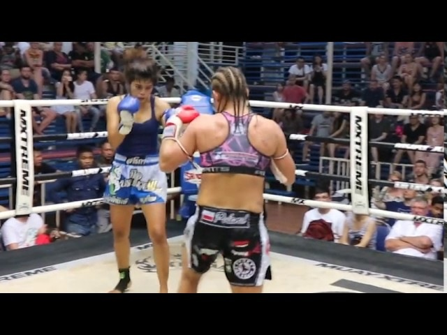Female body strike KOs - boxing WMMA - pt 1