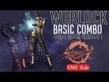 JaesungWarLock Basic Combo Tutorial 2017ver - Blade and Soul PVP