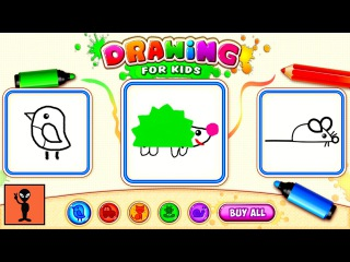 Drawing for Kids! Coloring Children Games Toddlers - Android Gameplay Funny Videos Educational Game