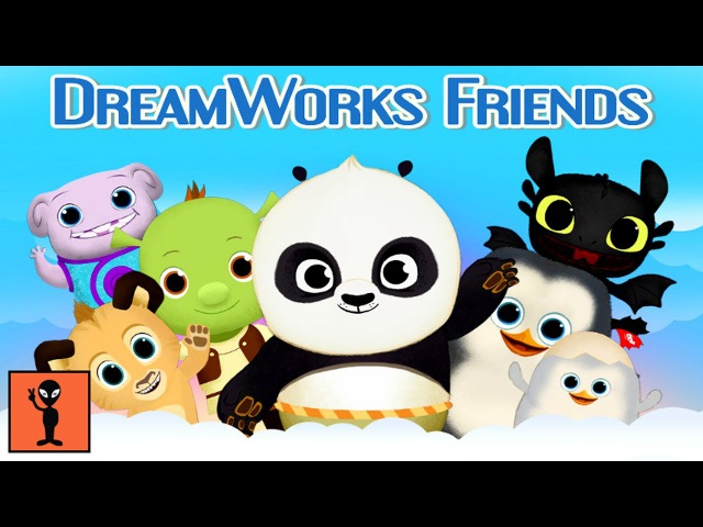 DreamWorks Friends - Games For Kids To Play Android Gameplay Funny Videos Educational Game
