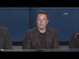 Совместная пресс-конференция NASA и SpaceX по поводу первой успешной посадки Falcon 9 на ...