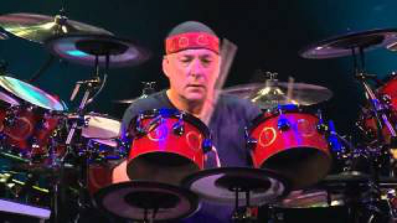 Rush - Neil Peart Drum Solo (Snakes Arrows Tour) WIDESCREEN 720p